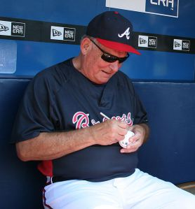 Bobby Cox of the Atlanta Braves